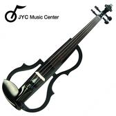 集樂城樂器 JYC SDDS-1311 彩繪琴身高級三段EQ電小提琴(編織紋)