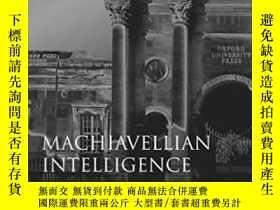 二手書博民逛書店Machiavellian罕見IntelligenceY2551