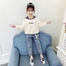 女童套裝2019新款韓版秋季網紅6歲8兒童裝時髦洋氣女孩中大童秋裝