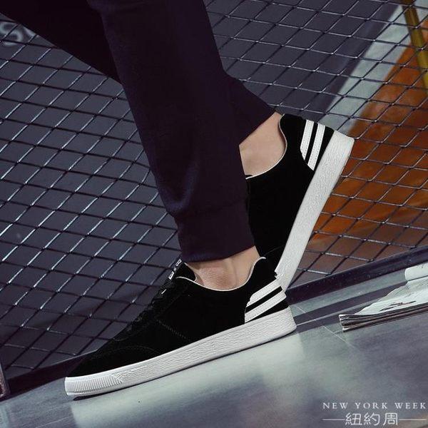 休閒鞋 韓版   男鞋  帆布