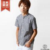 立領短袖襯衫 XS-M