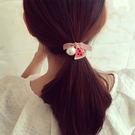 Qmigirl  可愛簡約水果珍珠髮繩 蝴蝶結頭飾 髮飾【QG008】
