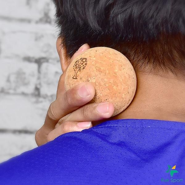 Approach yoga 肌筋膜按摩軟木球(2球組)(壓點球/按摩球/Cork Pressure Point Ball)
