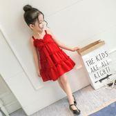 女童洋裝 童裝女童連身裙2019夏裝新品3兒童4夏季5吊帶6歲裙子7韓版公主裙