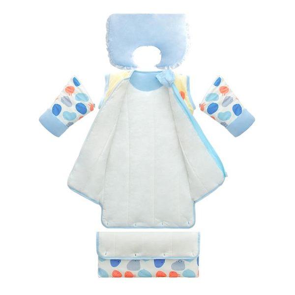 嬰兒睡袋加厚可拆卸多功能兒童防踢被寶寶保暖新生兒用品【店慶狂歡八折搶購】