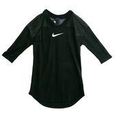 Nike AS W NSW TOP LS SWSH MESH  短袖上衣 876648010 女 健身 透氣 運動 休閒 新款 流行