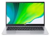 宏碁 Acer SF114-34-C4Q4 銀 (N5100/8G/256G SSD) 14吋輕薄筆電 (現貨)