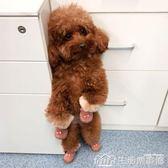 狗狗鞋子一套4只防抓棉寵物鞋泰迪博美比熊小型犬幼犬腳套  生活樂事館