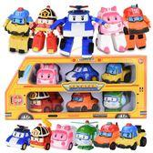 兒童玩具  安巴變形警車波利機器人星珀利警長玩具消防救援隊總部 歐萊爾藝術館