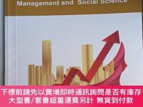 二手書博民逛書店Lecture罕見Notes in Economics,經濟學講稿,Management and Social S