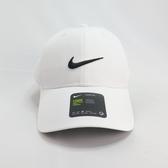 NIKE LEGACY91 GOLF 棒球帽 老帽 單一尺寸 後有魔鬼氈可調 892651100 白色【iSport】
