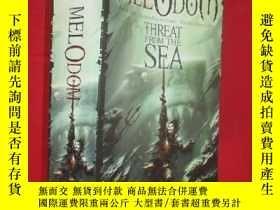 二手書博民逛書店The罕見Threat from the Sea (大32開 )