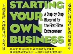二手書博民逛書店The罕見Mcgraw-hill Guide To Starting Your Own BusinessY36