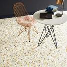 日本家用PVC地板革卷材 彩色石子磚紋 ...