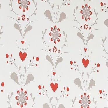 愛心花朵遮光捲簾 90x180cm