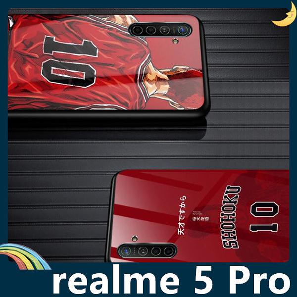 realme 5 Pro 灌籃高手保護套 軟殼 SLAM DUNK 防刮玻璃 軟邊全包款 手機套 手機殼