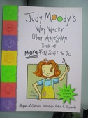 【書寶二手書T8/少年童書_OMO】Judy Moody's Way Wacky Uber Awesome Book o