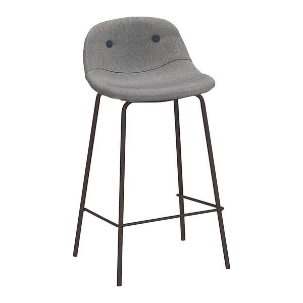 華爾斯吧椅灰布-低(21CM/1078-11)/H&D東稻家居