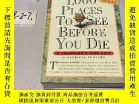 二手書博民逛書店英文原版:1000PLACES罕見TO SEE BEFORE Y
