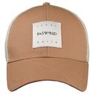 【ISW】網眼透氣棒球帽-軍綠色 (兩色可選) 設計師品牌