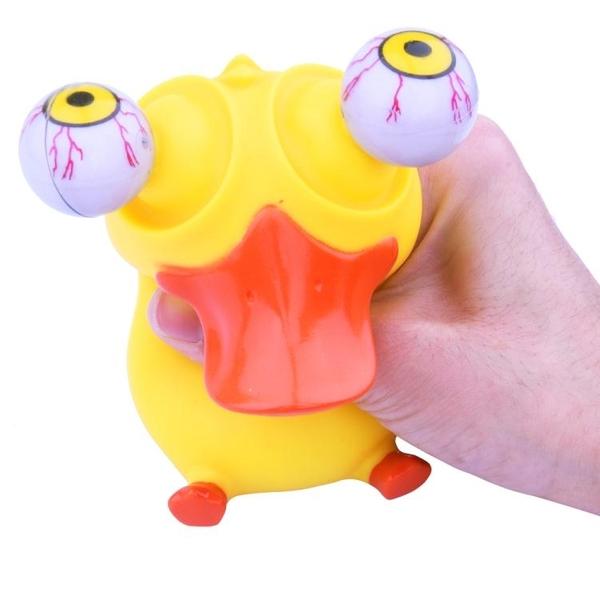 抖音玩具減壓玩具捏捏樂擠爆眼公仔鴨成人創意整蠱解壓發泄女沙雕 范思蓮恩