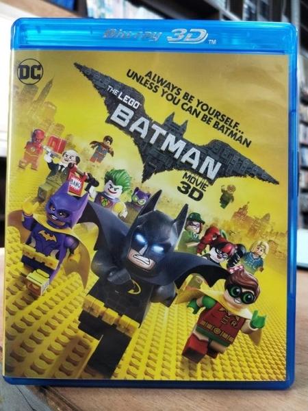 挖寶二手片-0666--正版藍光BD【樂高蝙蝠俠電影 3D+2D雙碟版】卡通動畫 DC(直購價)