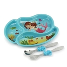 KIDS FUNWARES系列-造型兒童餐盤組-小美人魚[衛立兒生活館]