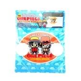 【震撼精品百貨】One Piece_海賊王~航海王 ONE PIECE 魯夫 艾斯 Q版 車用吸盤式/告示牌