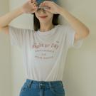 Queen Shop【01038997】1989NIGHT印字彈性雪花棉短袖T*現+預*