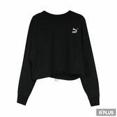 PUMA 女 流行系列PUMA織帶圓領衫(F)  圓領T(長)- 57833801