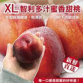 366元起【果之蔬-全省免運】智利多汁蜜香XL甜桃禮盒X1盒(6顆/盒 每顆約140g±10%)