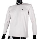 BURBERRY 紳士透氣排汗棉質上衣(白色)085207-4