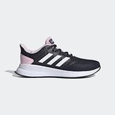 Adidas Runfalcon [EF0152] 女鞋 運動 休閒 慢跑 避震 透氣 舒適 健身 愛迪達 深藍 白