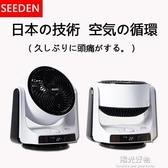 空氣循環扇西點直流變頻台式對流扇日本渦輪靜音遙控智慧電風扇 220V NMS陽光好物