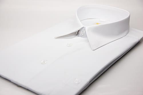 【金‧安德森】白色基本款長袖襯衫
