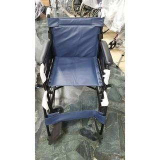 均佳 機械式輪椅 (未滅菌)JW-001 鐵製輪椅-皮面
