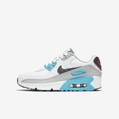 【母親節跨店折後$3280】Nike 休閒鞋 Air Max 90 LTR GS 白 紅 藍 女鞋 大童鞋 復古慢跑鞋 CD6864-108
