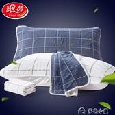 枕巾6層紗布枕巾純棉一對裝成人情侶嬰兒童單人學生男全棉枕頭巾 多色小屋