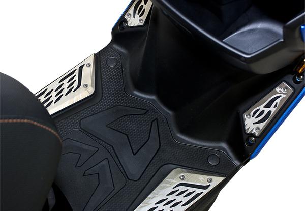 KYMCO光陽機車VJR125咬花霧化防滑踏板組 (VJR125專用)