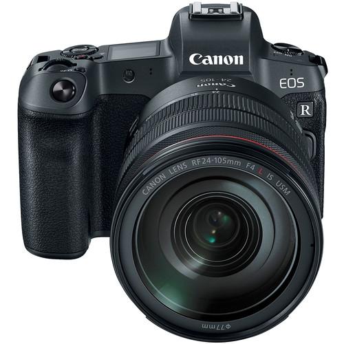 【福笙】CANON EOS R KIT 含 RF24-105mm f/4L IS USM 單鏡組 全幅機  (佳能公司貨) 送原廠轉接環