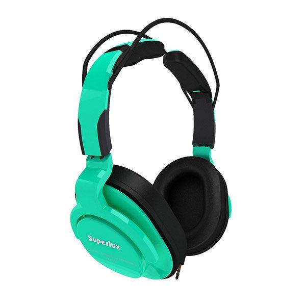 Superlux 舒伯樂 HD661 綠色.新款全罩式專業監聽級耳機,原廠代理商公司貨,附保卡,保固一年