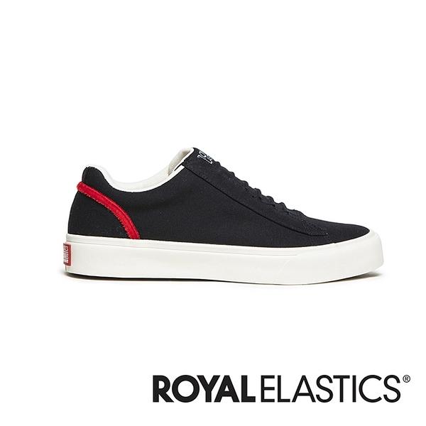 ROYAL ELASTICS Cruiser 黑紅日系帆布休閒鞋 (男) 00603-991