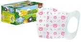 萊潔兒童3D立體醫療防護口罩 粉色動物家族 50片/盒*維康