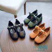 女童公主鞋兒童皮鞋防滑軟底寶寶單鞋