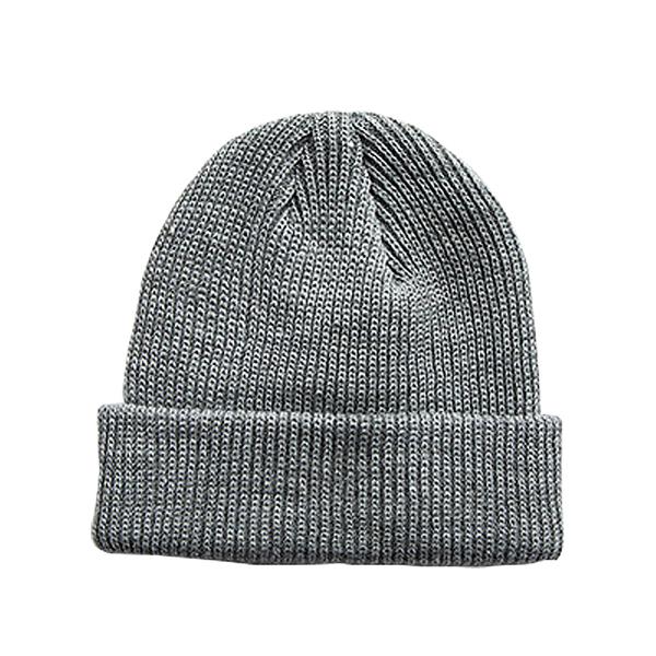 [7-11限今日299免運]秋冬圓頂卷邊針織帽 毛線帽 素色毛帽 尖尖帽 套頭帽 保暖✿mina百貨✿【V026】