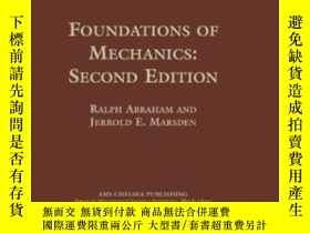 二手書博民逛書店Foundations罕見Of Mechanics-力學基礎Y436638 Ralph Abraham And