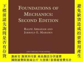 二手書博民逛書店Foundations罕見Of Mechanics-力學基礎Y436638 Ralph Abraham And
