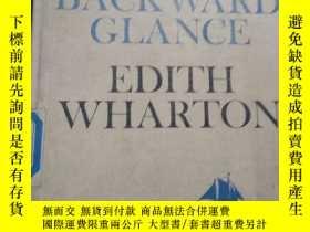 二手書博民逛書店A罕見BACKWARD GLANCE EDITH WHARTON