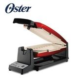 限量特價 美國 OSTER 7分鐘快速陶瓷烤盤 帕尼尼三明治機 CKSTCG20R-TECO-082