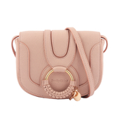 【SEE BY CHLOE】HANA BAG 迷你型山羊皮斜背包(蜜粉色) CHS17AS901305 6K0